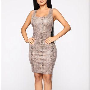 Fashion Nova Wake up with you mini dress..NWOT